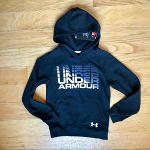 NWT Under Armour Black Hoodie